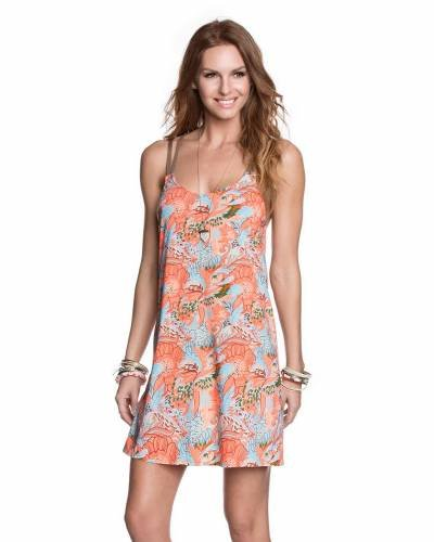 Maaji Short Dress Flowery Mosaic 1404