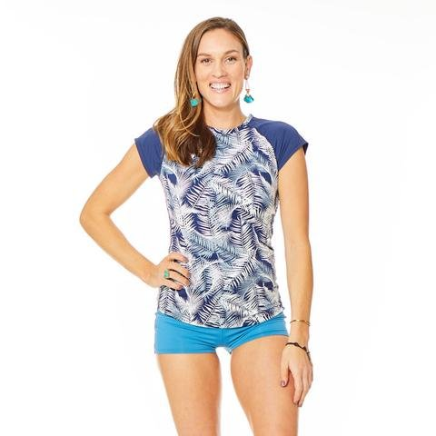 Carve Belles Swim Shirt Anchor Kauai