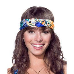 Maaji Blue Marine Beach Turban