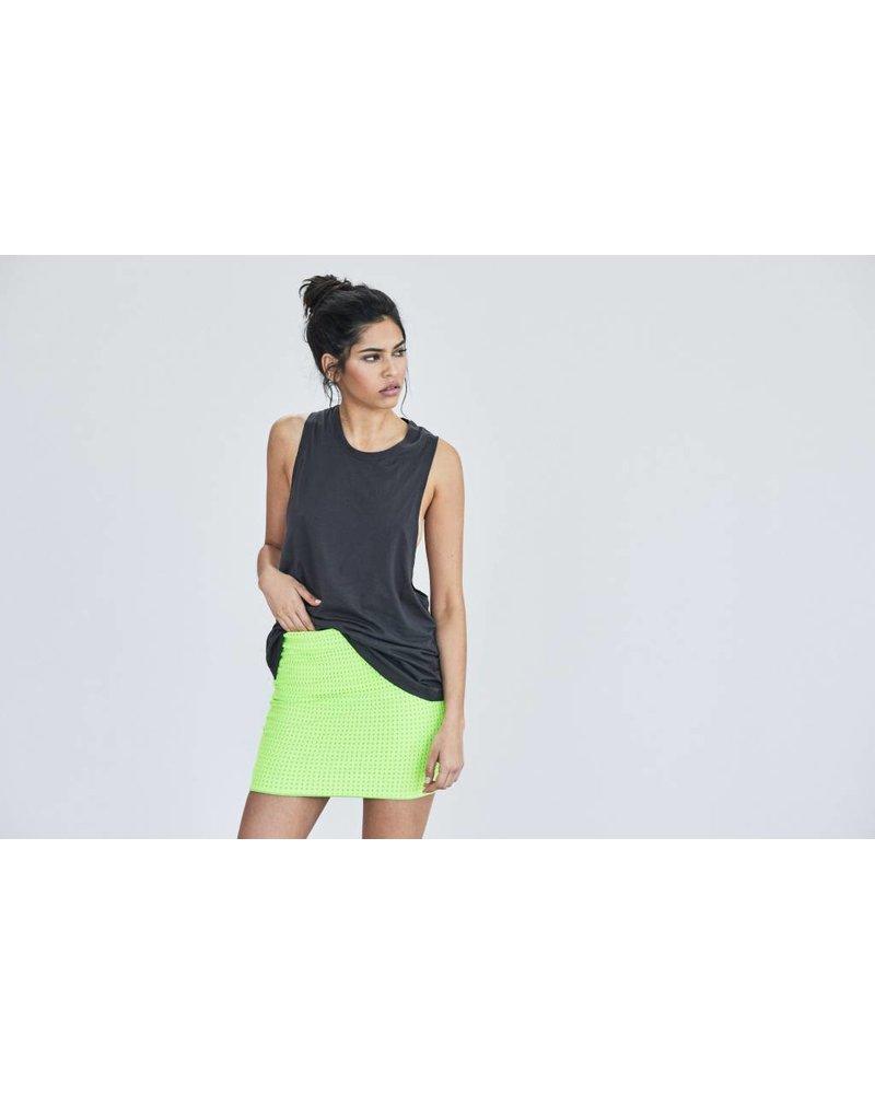 Acacia Paia Skirt Mesh Neon Cactus