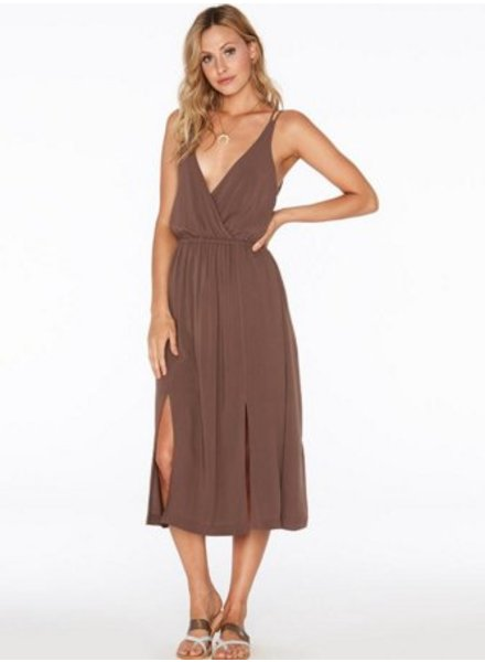 L*Space | Tori Dress Chocolate