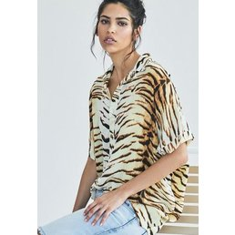 Acacia Mombasa Shirt Dress Tiger