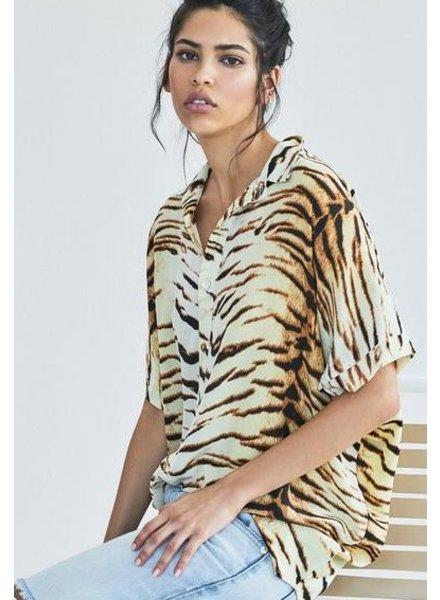 Acacia Mombasa Shirt Dress Tiger