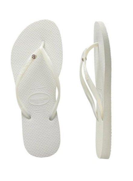Havaianas Slim Crystal White