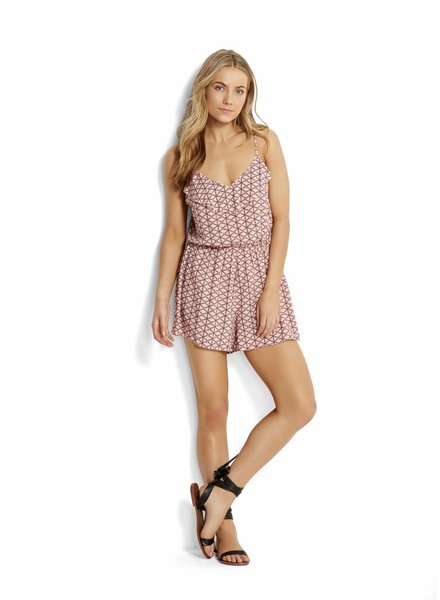 Seafolly Geo Playsuit Spice