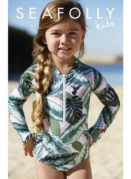 Seafolly Palm Beach Rash Suit