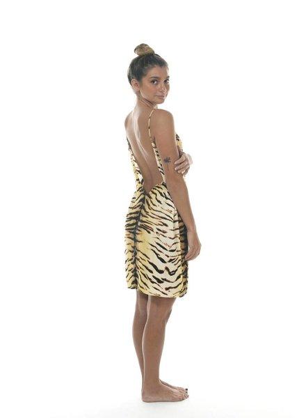 Acacia Flores Dress Tiger