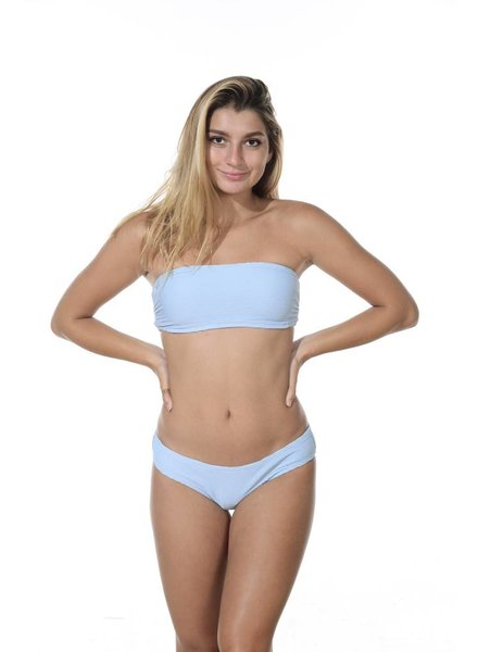 Billabong Tan Lines Bandeau Cool Blue