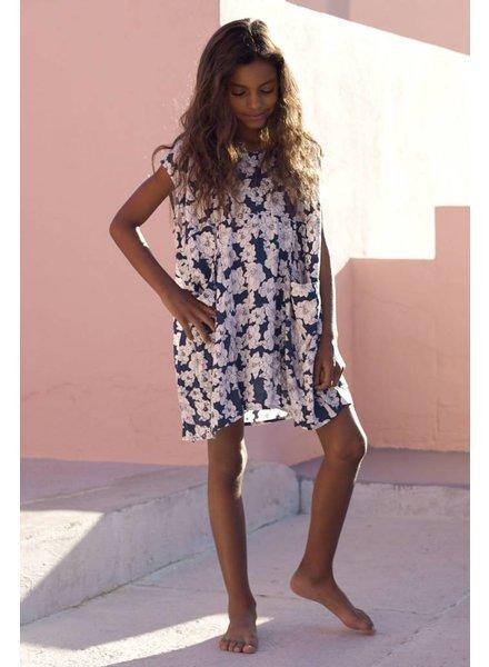 Acacia Honey Mana Dress Blue Magnolia