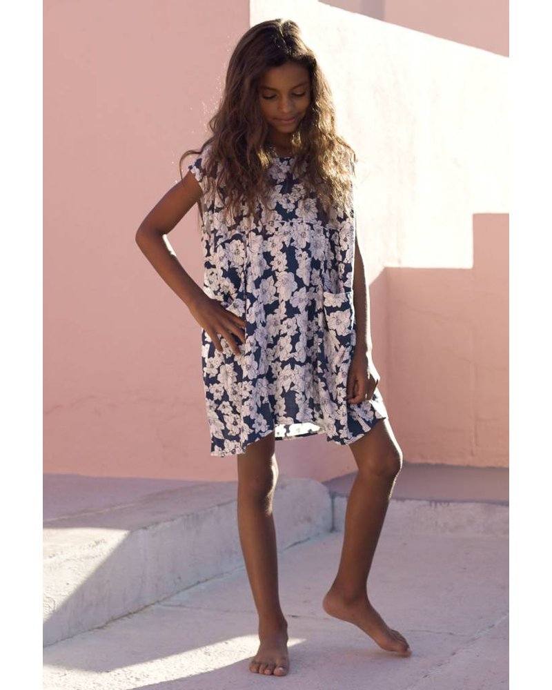 Honey Mana Dress Blue Magnolia