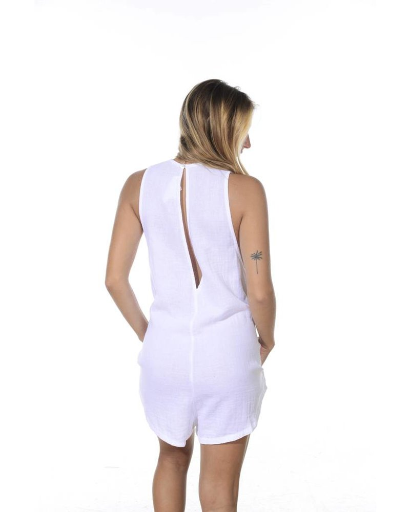 Acacia Haiku Jumpsuit Whitewash