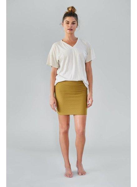 Paia Skirt Mesh Mustard