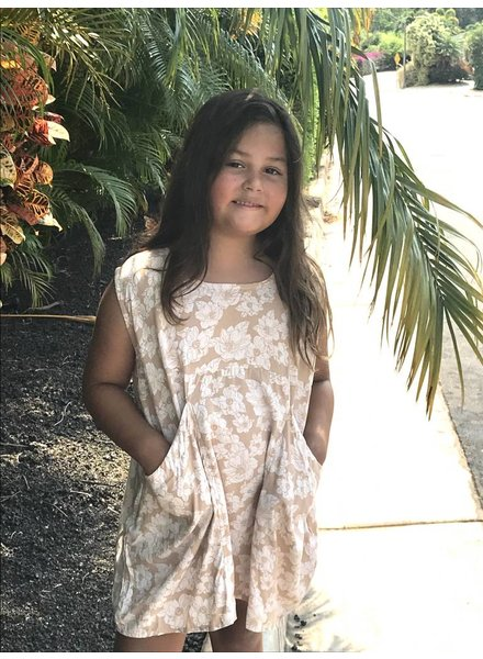 Acacia Honey Mana Dress Naked Magnolia