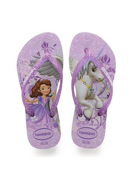 Kids Sofia Slipper Purple