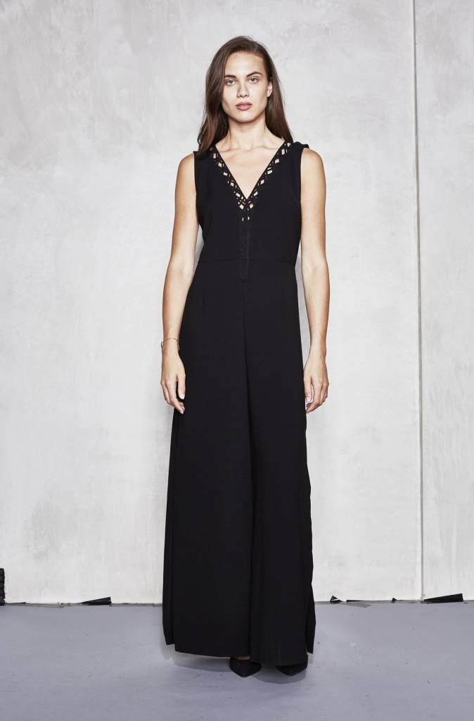 Revival Jumpsuit - Jet black Religion Free Shipping Shopping Online WQY5QdpC