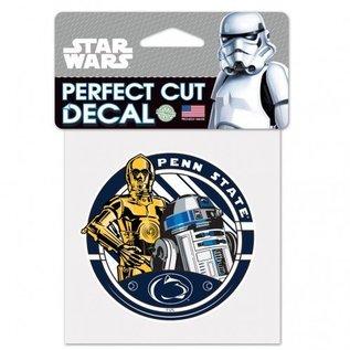 WinCraft, Inc. Star Wars Sticker R2D2&C3PO