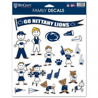 WinCraft, Inc. Family Decal Sheet