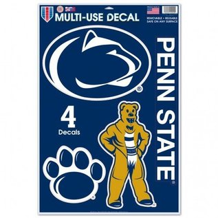WinCraft, Inc. Multi-Use Decal, 4 Decals