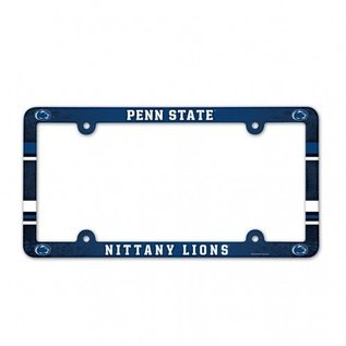 Plastic PSU License Plate Frame