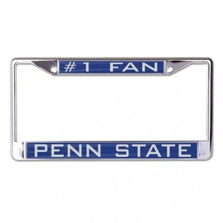 WinCraft, Inc. #1 Fan License Plate Frame