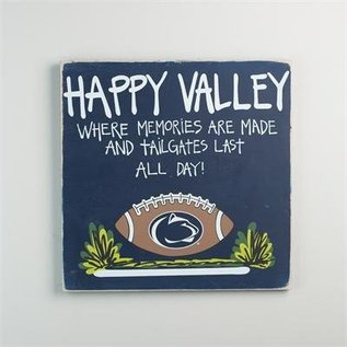 Glory Haus Happy Valley Tailgate Sign