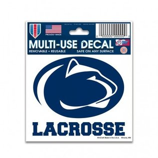 WinCraft, Inc. Decal 3x4 Lacrosse