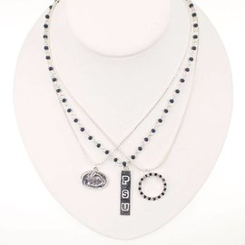 Seasons Jewelry Logo Trio Necklace