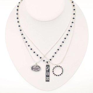 Seasons Jewelry Logo Trio Necklace