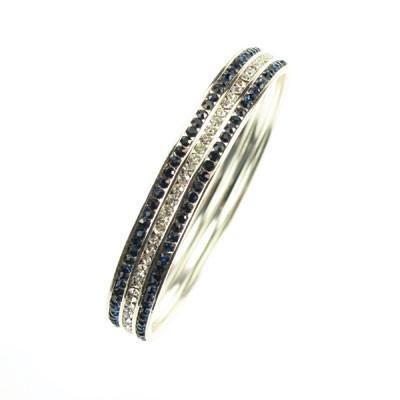 Seasons Jewelry Penn State Crystal Color Bracelet