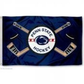 Sewing Concepts Navy Hockey Flag 3x5