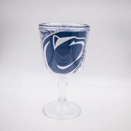 Penn State Acrylic Wine Glass