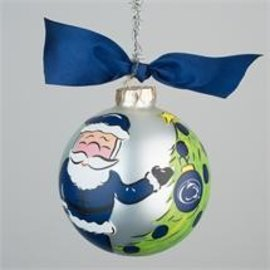 Glory Haus Santa Glass Ornament