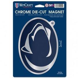 WinCraft, Inc. Chrome Die-Cut Logo Magnet