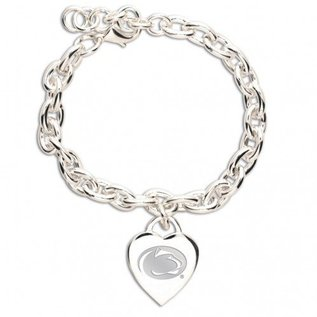 WinCraft, Inc. Heart Charm Bracelet Carded