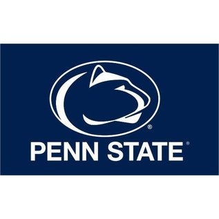 Sewing Concepts Navy Oval Lion & Penn State 2x3