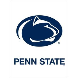 Sewing Concepts White w/ Oval Lion & Penn State 13x18 Garden Flag