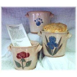 Lion Paw Pottery Bread Baker