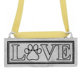 Wendell August Love Paw Ornament