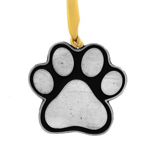 Wendell August Paw Print Ornament