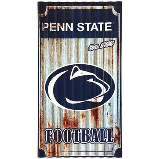 Evergreen Enterprises Penn State Corrugated Metal Wall Art