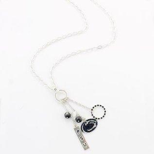 Seasons Jewelry Long Charm Necklace
