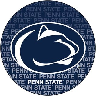 """R & R Imports Inc. Penn State 4"""" Round Verbiage Magnet"""