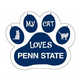 R & R Imports Inc. PSU Cat Paw Print Magnet
