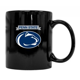 R & R Imports Inc. PSU Nittany Lion Black Mug