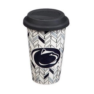 Evergreen Enterprises Penn State 10 oz. Just Add Color Travel Mug