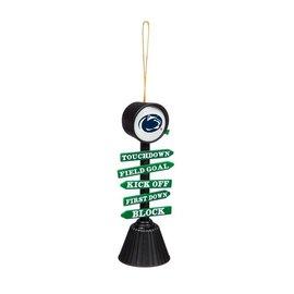 Evergreen Enterprises Fan Crossing Ornament