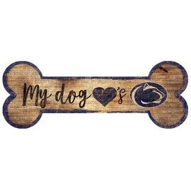 Dog Bone Wooden Sign
