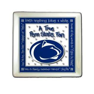 Memory Company True Penn State Fan Ceramic Plate