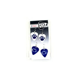 Guitar Pick 2 Pair Earrings