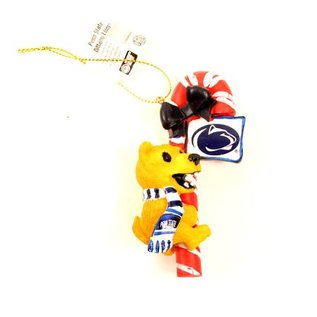 Memory Company Nittany Lion Candy Cane Ornament